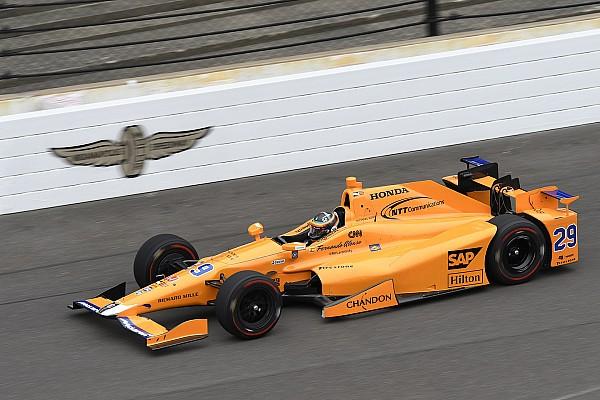 Fotogallery: il primo test IndyCar di Alonso sull'ovale di Indianapolis