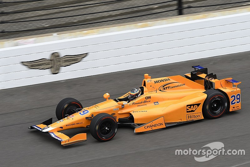 Alonso tops rookie and refreshers test for Indy 500