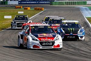 World Rallycross Résumé de course Loeb et Peugeot-Hansen dominent la première journée