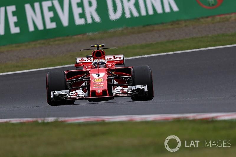Le crash de Räikkönen lui coûte une pénalité sur la grille