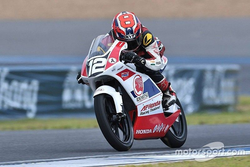 Sethu relishes test chance with Honda's Moto3-spec bike