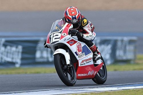 Sethu relishes test chance with Honda's Moto3-spec bike