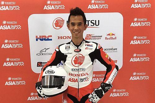 Gerry Salim kembali beraksi di Asia Talent Cup