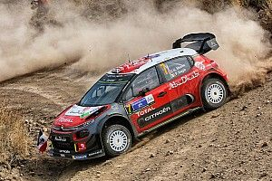 Mexico WRC: Meeke extends lead as Ogier spins
