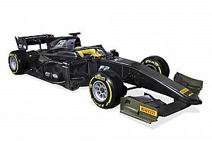 FIA F2 Noticias de última hora La Fórmula 2 presenta el coche de 2018 con Halo