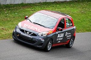 Xavier Coupal wins Round 4 of the Micra Cup at Mont-Tremblant