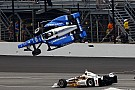 "IndyCar Castroneves on Dixon shunt: ""They were flying. I duck, close my eyes"""