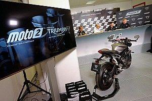 El motor Triumph de Moto2 rueda con la electrónica oficial en Aragón