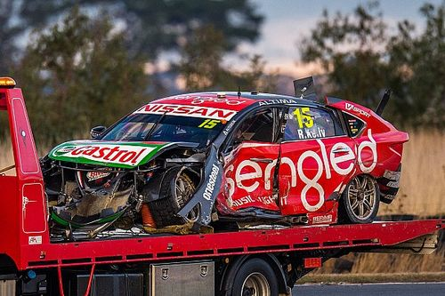 Nissan revives old chassis for injured Kelly