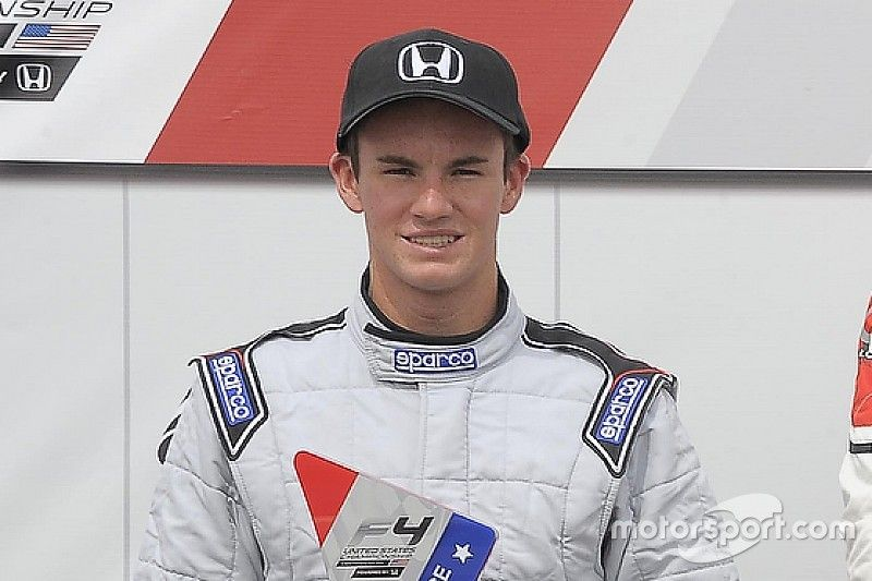 Kirkwood signs with Cape for USF2000 debut season