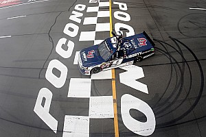 NASCAR Truck Race report Rookie William Byron takes record-breaking fifth win