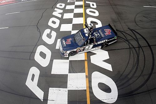 Rookie William Byron takes record-breaking fifth win