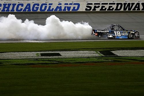 Kyle Busch's winning truck fails post-race inspection