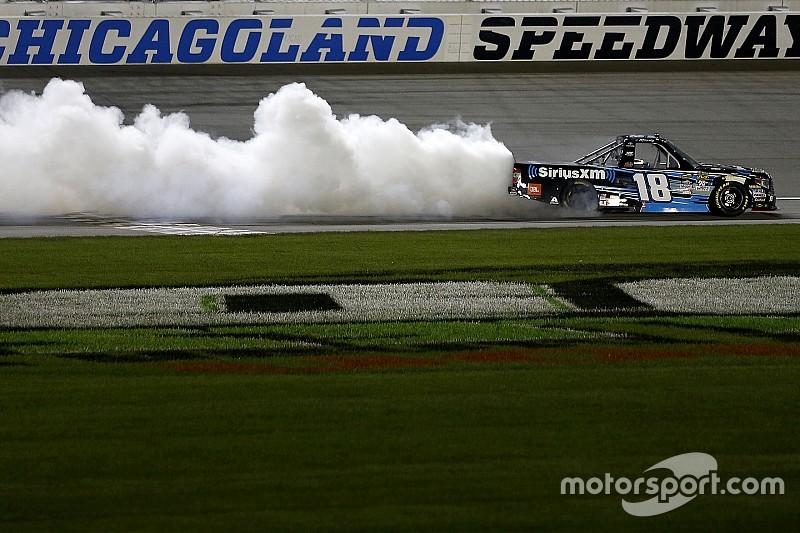 Kyle Busch's winning truck fails post-race inspection