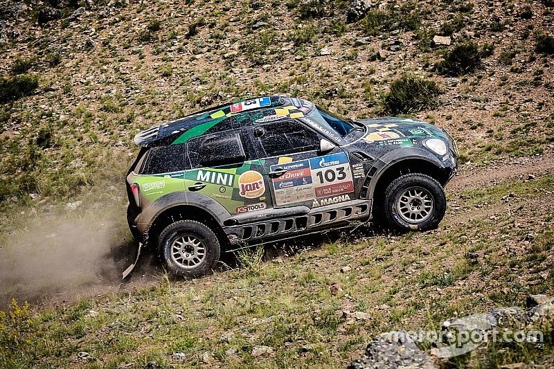 Silk Way Rally 2016 - First stage win for the MINI ALL4 Racing