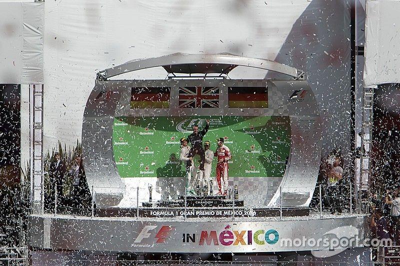 Hamilton dominó una carrera donde hasta tres pilotos fueron 3º