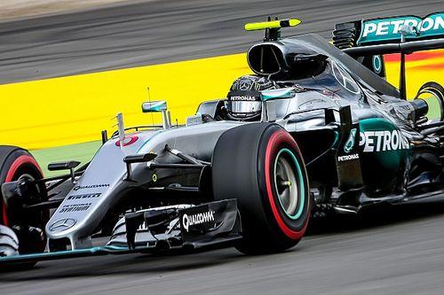 German GP: Vettel closer to Mercedes as Rosberg tops FP2