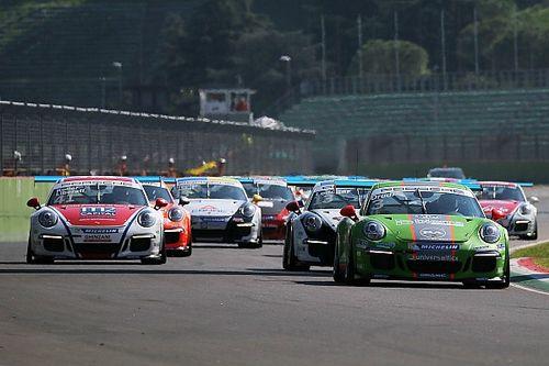 Ad Imola sta per iniziare la seconda gara della Carrera Cup Italia