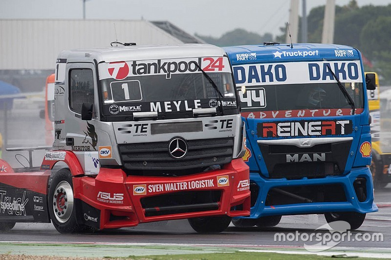 Lacko takes hat-trick of Misano truck victories