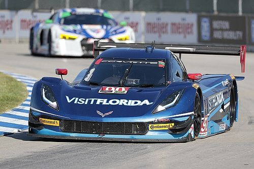 Disappointment in Detroit for Visit Florida Racing