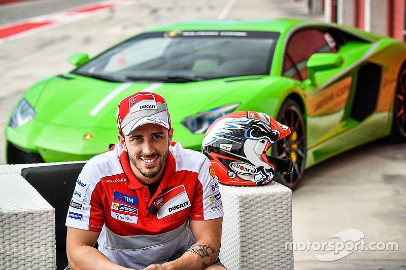 Dovizioso passe de Ducati à Lamborghini pour le Super Trofeo
