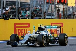 "Rosberg set fastest lap in Russia on ""safe"" settings"