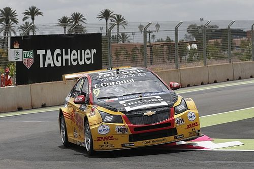 Morocco WTCC: Coronel emerges as surprise leader in FP2