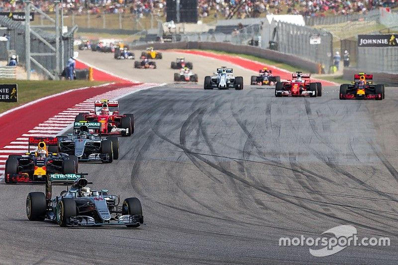 F1 grid expected to be further spread out in 2017