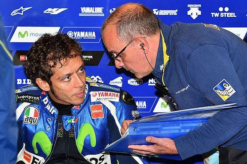 Misano MotoGP: Rossi leads Espargaro in crash-filled first practice