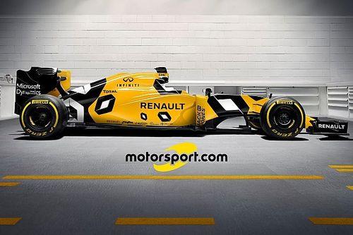 Visuels - Trois livrées imaginaires pour Melbourne de la Renault R.S.16