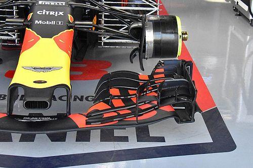 Red Bull: sulla RB14 di Ricciardo è stato tagliato l'ultimo flap dell'ala anteriore