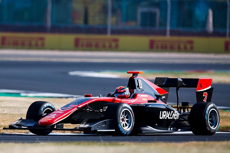 Мазепин уступил только Юберу в субботней гонке британского этапа GP3