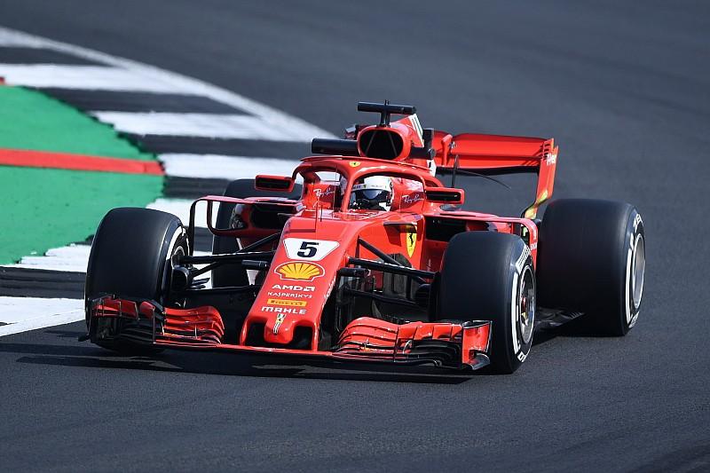 Silverstone, Libere 2: Vettel con il caldo esalta la Ferrari che è davanti alle Mercedes