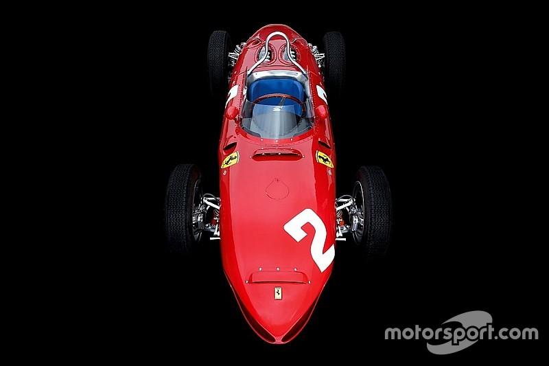 Los Ferrari F1 de leyenda: el 'nariz de tiburón' 156