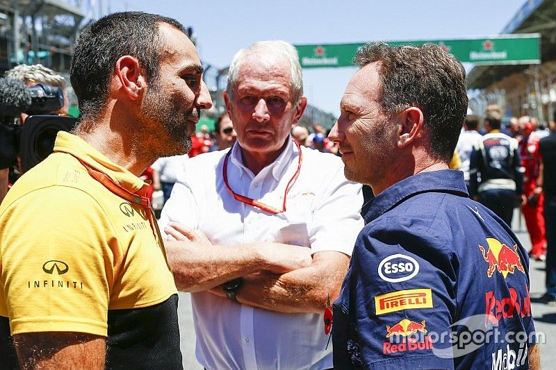 """Renault dénonce la """"manipulation"""" de Red Bull"""