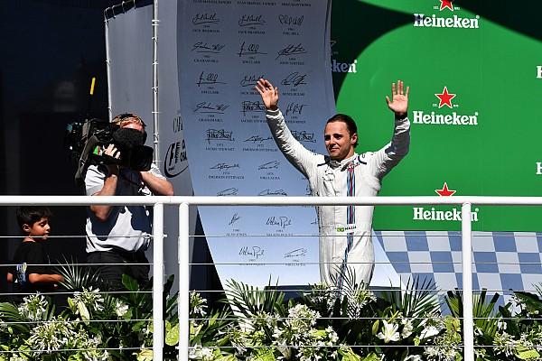 Formula 1 Massa: il commiato è dal podio, rompendo i soliti cerimoniali
