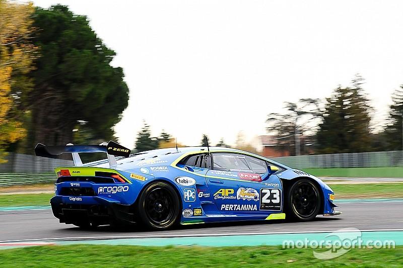 A Vallelunga ci sono anche le Lamborghini di Postiglione-Pereira e Jiatong-Giammaria, più la Ferrari di Ceresoli-Tanaka