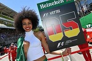 """'Traditieman' Vettel: """"Beetje verdrietig dat grid girls weg zijn"""""""