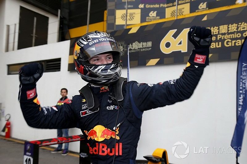 """""""Special"""" pass for Macau victory was on the limit - Ticktum"""