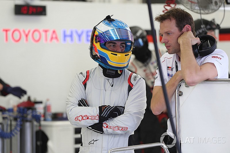 Alonso gets first mileage in 2018 Toyota LMP1