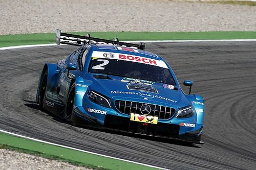 Mercedes form makes DTM exit frustrating - Paffett