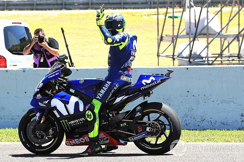Egész hétvégén szenved Rossi Spanyolországban, az időmérő sem volt kivétel