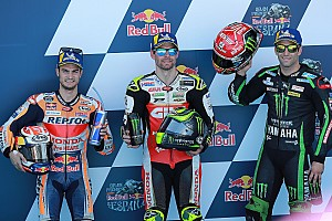 Starting grid MotoGP Spanyol 2018