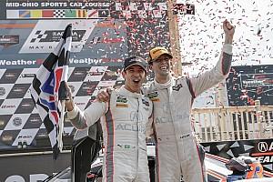 IMSA Race report Mid-Ohio IMSA: Castroneves, Taylor lead Acura-Penske 1-2