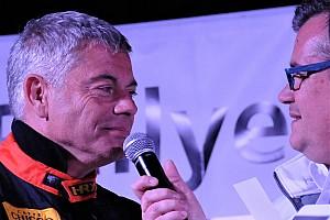 Olivier Burri au départ du Rallye Monte Carlo en janvier