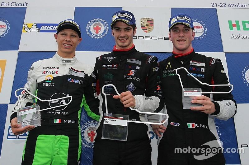 """Carrera Cup Italia, Rovera super a Monza: """"C'è ancora da lottare"""""""