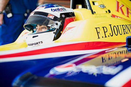 アレジとゴクミの息子ジュリアーノ、GP3で3年目のシーズンに挑む