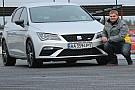 Автомобілі SEAT Leon CUPRA: тест-драйв із чемпіоном