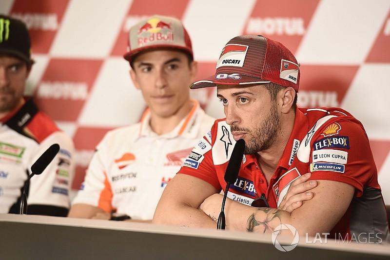 """Dovizioso: """"Márquez hizo todo lo que no debía hacer"""""""