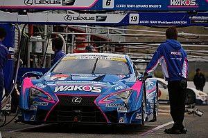 6号車WAKO'S 4CRの脇阪寿一監督「最低でもレクサスでタイトルを獲る」